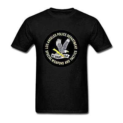 Men's LAPD SWAT Short Sleeve T-Shirt