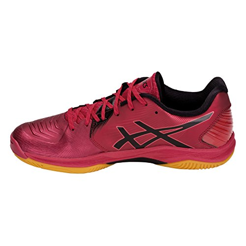 Ff Corail Rouge Asics Chaussures De Homme Blast Handball noir Onvq1