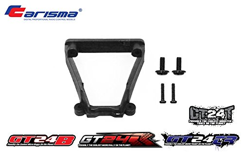 Carisma 15412 GT24B Rear Wing Mount Set Replacement Parts