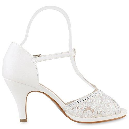 Japado Tira de tobillo Mujer Weiss Bianco