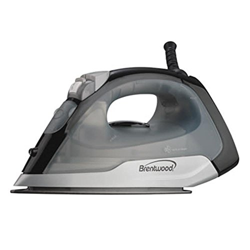 Brentwood  MPI-53 Non-Stick Steam Iron, Black by Brentwood
