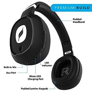 Leaf Bass Wireless Bluetooth Headphones