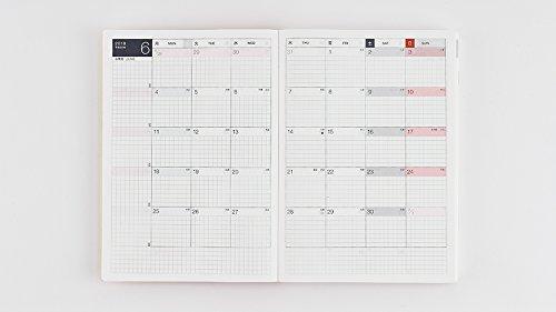 Hobonichi Techo Cousin - Liberty Fabrics: Fluttering Set (Japanese/A5/Jan 2018 Start) by Hobonichi Techo (Image #4)'