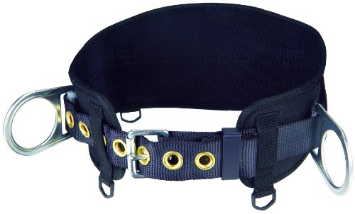 3M Protecta PRO Body Belt with Hip Pad, 2 D-Rings, Medium/Large, 1091014 from 3M Fall Protection Business