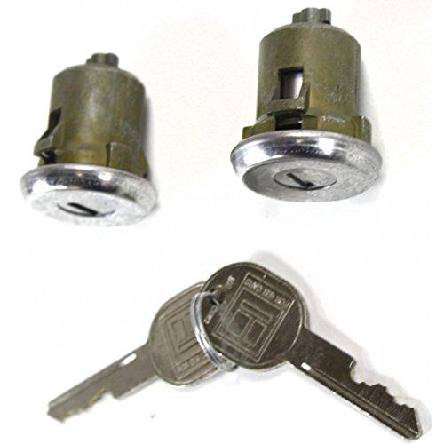 2 Olds Door Cutlass - Diften 181-A0088-X01 - New Set of 2 Door Lock Cylinders Front Chevy Olds Suburban S-10 BLAZER Pair