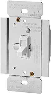 Eaton TI3101-W Trace Dimmer with Combination Single-Pole 3-Way Unit, 1000-watt, White Finish