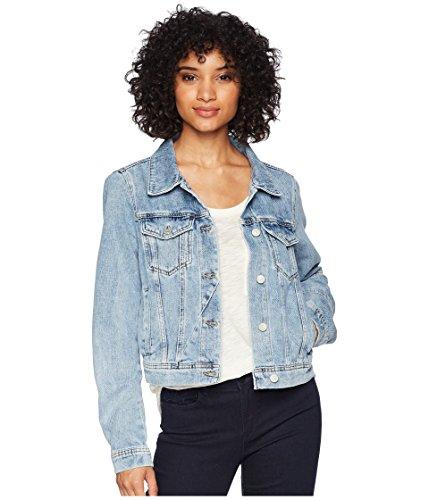 Free People Women's Rumors Denim Jacket Indigo Blue Small