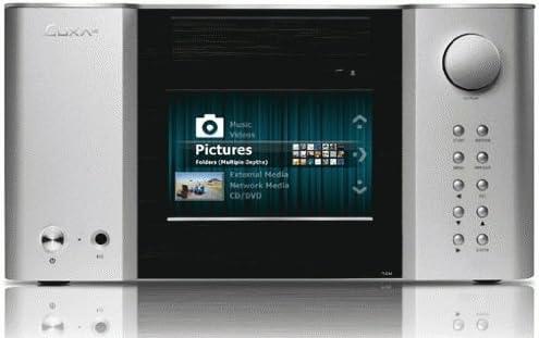 LUXA2 LM200 Touch HTPC Negro, Plata Carcasa de Ordenador - Caja de Ordenador (HTPC, PC, Aluminio, Negro, Plata, 400 mm, 410 mm): Amazon.es: Informática