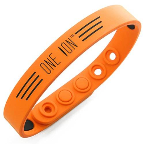 ONE ION Ultra Wings Power Wristbands - 2,500 ION - Classic and Limited Collection (ORANGE)