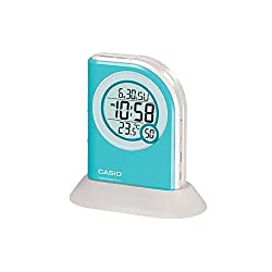 Casio Pq75-2df Multi Function Digital Thermometer Table Top Alarm Clock