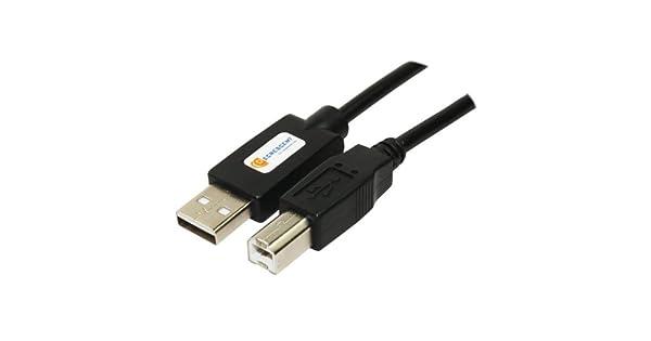 Amazon.com: USB Computer PC Cable de impresora para TODAS ...
