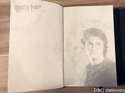Amazon.com : Magic Book Harry Potter Notebook Diary, Agenda ...