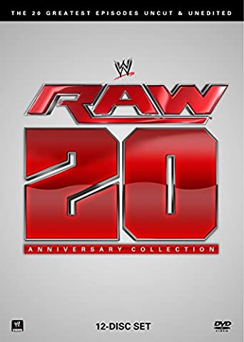 WWE: RAW: 20th Anniversary: The 20 Greatest Episodes Uncut & Unedited (Wwe Best Of Raw Dvd)