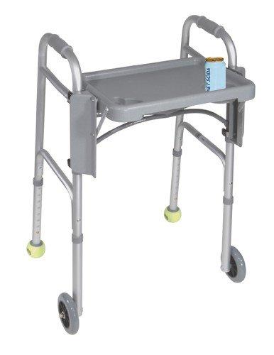 Drive Medical (a) Walker Folding Flip Tray