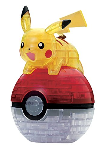 61-piece jigsaw puzzle 3D Pokemon Pikachu & monster ball