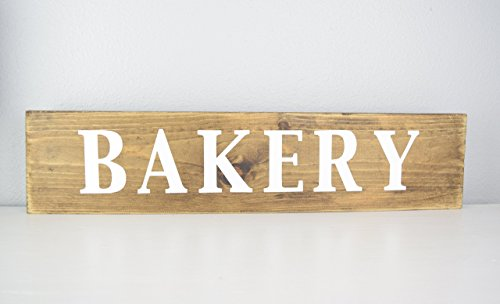 wooden bakery sign - 7