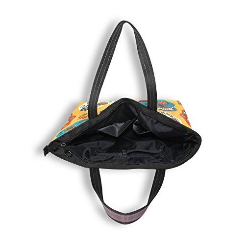 Tela Multicolor Para Bolso De Denriera Mujer 1TFPqE7