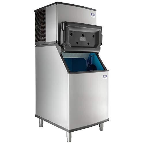 - Manitowoc IDT0450A Ice Cube Machine, Dice, Air Cooled w/ D570 Storage Bin, 30