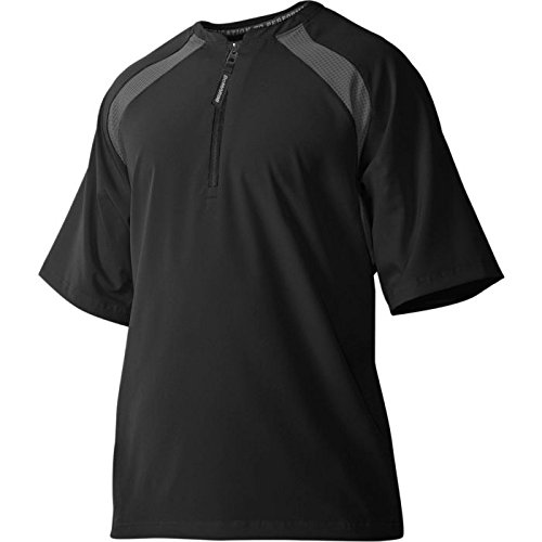 DeMarini Men's Game Day Batting Practice Jacket, Black, Large