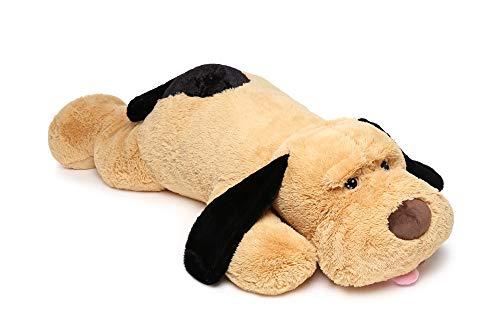 MorisMos Puppy Dog Stuffed Animal Soft Plush Dog Pillow Big Plush Toy for Girls Kids (Large-55 Inch) -