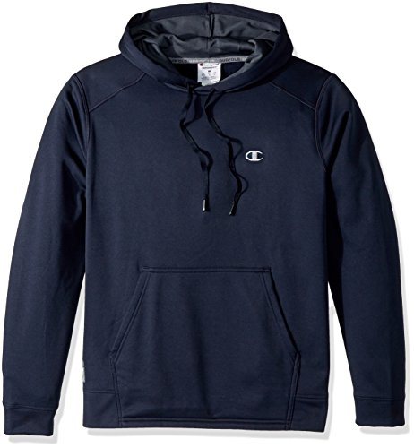 Navy Performance Hoody (Champion Men's Performance Fleece Pullover Hoodie, Navy, Medium)