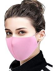Auifor Transpirable al aire libre, a prueba de polvo y antivaho, reutilizable y suave para adaptarse al puente nasal, 5 piezas por paquete