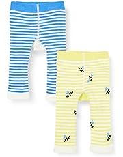 Joules Lively Leggings para Bebés, (Pack de 2)