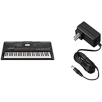 Yamaha PSR-E463 Portable Keyboard with Power Supply