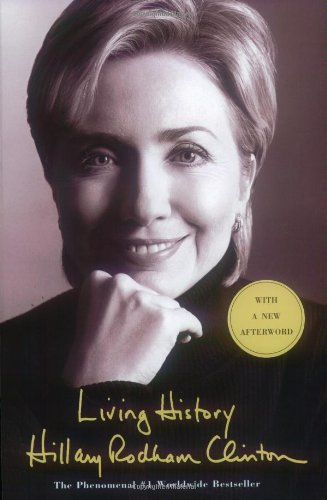 Book cover from Living Historyby Hillary Rodham Clinton