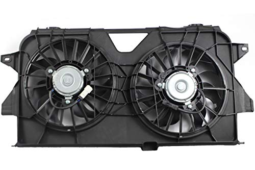 - BOXI Dual Radiator and Condenser Fan Assembly For 2005-2007 Chrysler Town & Country/Dodge Caravan/Dodge Grand Caravan / 4677695AA