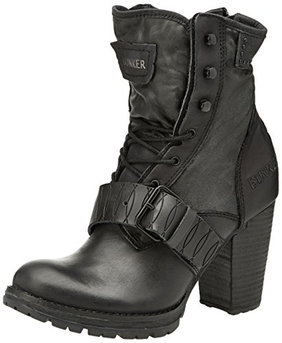 Bunker Strap - Botas mujer negro - Noir (Carbon)