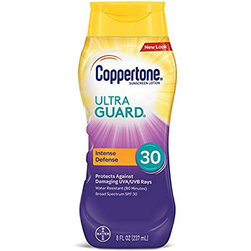 (Coppertone UltraGuard Sunscreen Lotion SPF 30 8 oz (Pack of 3))