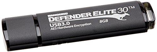 Kanguru Solutions KDFE30-8G 8GB Defender (Elite Flash Drive)