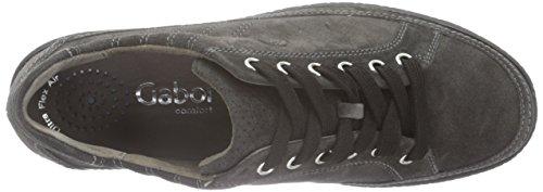 Gabor Shoes 56.458 - Zapatillas para mujer Gris (dark-grey 39)
