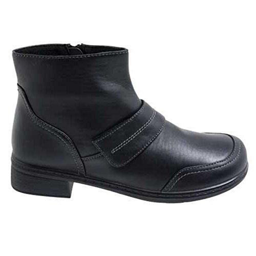 Lisanne Comfort+ Damen Stiefeletten schwarz Schwarz