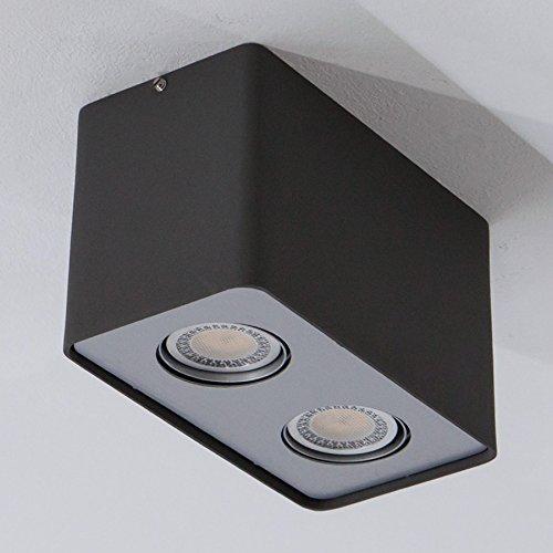 Ceiling Lamp Downlight Aluminium Gu10 Led Fl Giliano 2 mYIgvbf76y