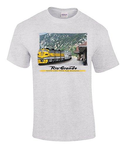 California Zephyr at Glenwood T-Shirt Adult Medium [63]