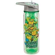 Vandor 38075 Teenage Mutant Ninja Turtles 18 oz Tritan Water Bottle, Multicolor