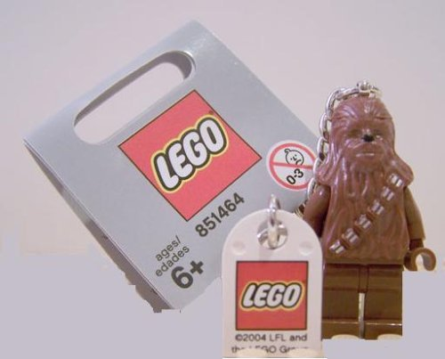 Lego Chewbacca - Star Wars Key Chain (Lego Star Wars Wookiee Ship)