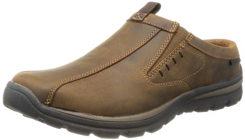 Skechers+USA+Men%27s+Superior+Kane+Mule%2C+Dark+Brown%2C+9.5+M+US
