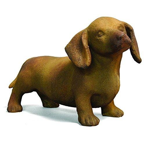"Orlandi Statuary Dachshund Dog Statue 17""L"