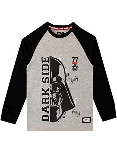 Star Wars Camiseta de Manga Larga para niños La Guerra de Las Galaxias Darth Vader: Amazon.es: Ropa y accesorios