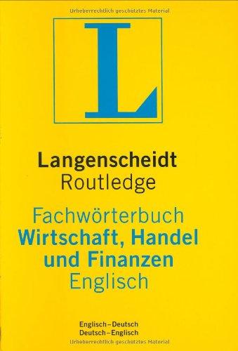 Langenscheidt Fachwörterbuch Wirtschaft, Handel und Finanzen, Englisch (Englisch) Gebundenes Buch – Oktober 2002 Langenscheidt Fachverlag 3861171910 MAK_new_usd__9783861171911 Allgemeines