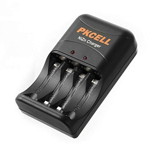 ouying1418 PKCELL Battery Charger Fast Charging For Ni-Zn AA//AAA Battery Charging EU Plug
