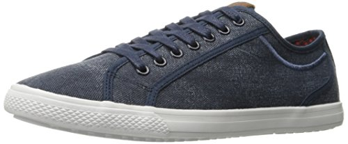 Ben Sherman Mens Chandler Lo Mode Sneaker Navy