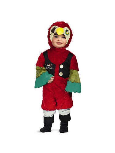 PIRATE PARROT COSTUME INFANT 12-18 (Pirate Parrot Toddler Costumes)