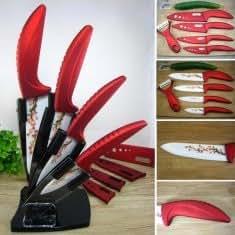 Ceramic Knife Set Kitchen Knives Fruit Knife Peeler Slicer
