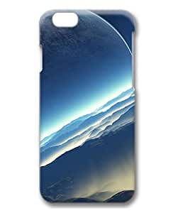 iCustomonline Fictional Exoplanet Space 3D Hard Back Skin Cover for iPhone 6 Plus( 5.5 inch)