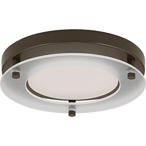 (Progress Lighting P8147-20-30K LED Flush Mount, Antique Bronze)