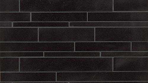 - Absolute Black Wall Mosaic, 1 SqFt
